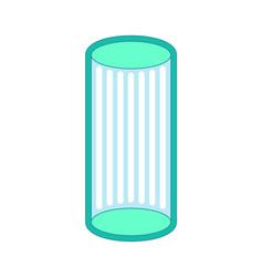 Solarium is vertical isolated apparatus vector