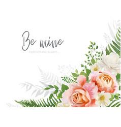 wedding invite invitation greeting card design vector image