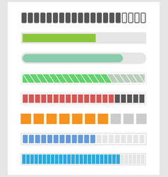 loading bar for web vector image vector image