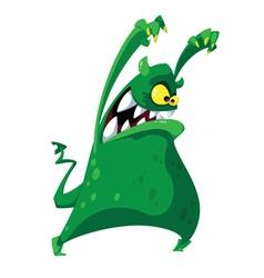 nightmarish monster vector image vector image