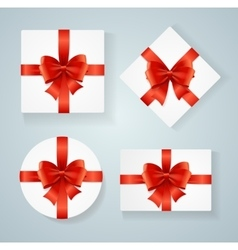 Boxes Present Blank Card vector image