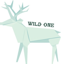 Wild One vector image vector image