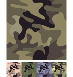 seamless camouflage background vector image vector image