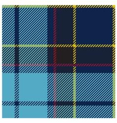 American Blue Tartan Cloth Pattern vector