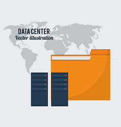 Data center folder file storage global vector