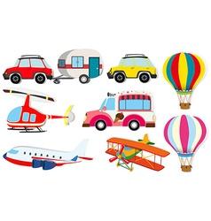 Different kind transportation vector