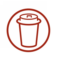 FoodCoffeeIcons vector image
