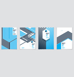 future geometric design templates abstract vector image