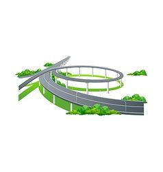 Icon highway vector