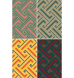Indian geometric pattern seamless vector