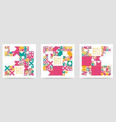 Minimal covers procedural design vector