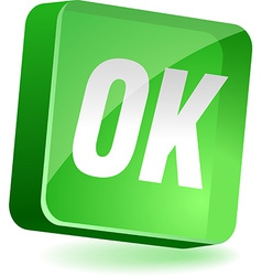 Ok Icon vector