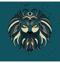 Stylized Lion Head2 vector