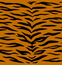 tiger animal print vector image