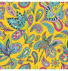 Bright Indian Summer Pattern vector image
