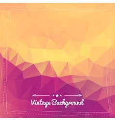 Abstract vintage background for design vector image vector image