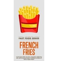 Burgers sale flyer vector image vector image