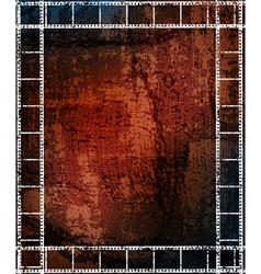 grungy background with frames vector image vector image