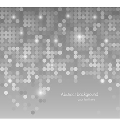 Abstract background with dots vector image