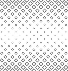 Abstract black and white square pattern vector