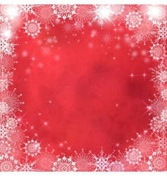 Christmas Abstract Textured Background vector image