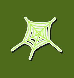 cobweb icon outline of cobweb icon for web vector image