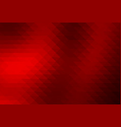 Deep burgundy red rows of triangles background vector