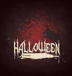 Halloween Grunge Background vector