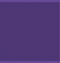 knit texture purple color seamless pattern fabric vector image