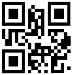 qr code says BEST CHOICE vector image