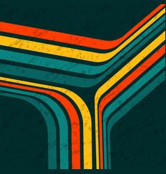 retro lines trio vector image