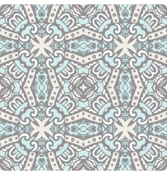 Seamless tiled damask design vector image