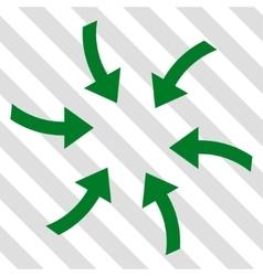 Twirl Arrows Icon vector