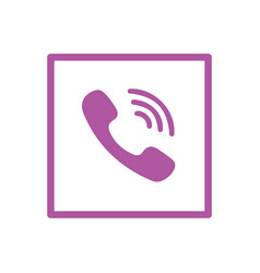 Viber icon design vector