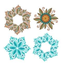 Set of decorative frame Modern elements vector image vector image