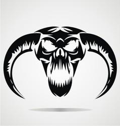 Scary Demon Skulls vector image