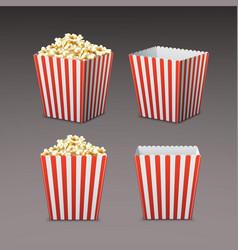 bag of popcorn vector image vector image