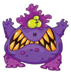 terrible monster vector image vector image