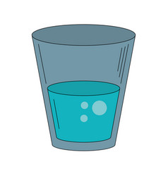 water of glass vector image