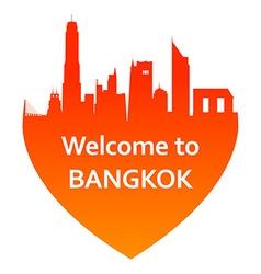 BangkokW vector image