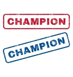 Champion Rubber Stamps vector image