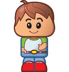 Cute Boy Avatar vector