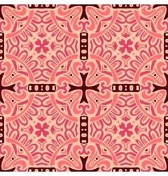 damask seamless pattern tiles vector image