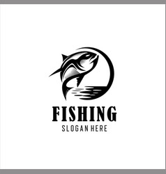 fishing tournament vector image