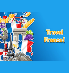 France banner design vector