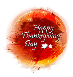 Happy thanksgiving day colorful background vector