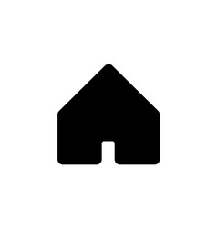 Home icon logo template vector