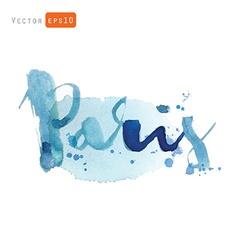 Paris word vector image
