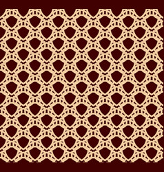 seamless linear pattern with elegant curved lines vector image