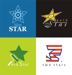 Symbols star vector